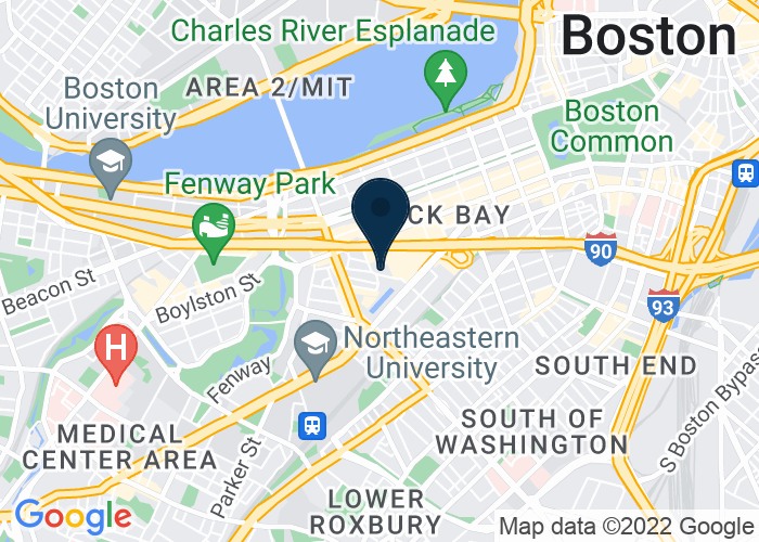 Map of 39 Dalton Street, Boston, MA 02199, United States