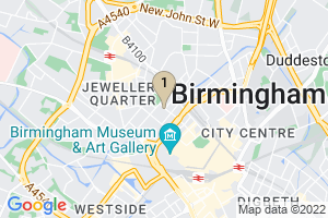 Google Map of 39 Ludgate Hill Birmingham B3 1EH