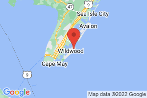 Map of North Wildwood