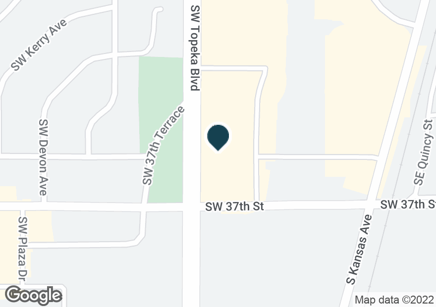 Google Map of3696 SW TOPEKA BLVD