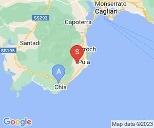Karte für Is Molas Circolo Golf