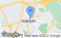 Map of Adelphi, MD