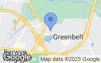 Map of Greenbelt, MD
