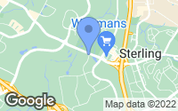 Map of Sterling, VA