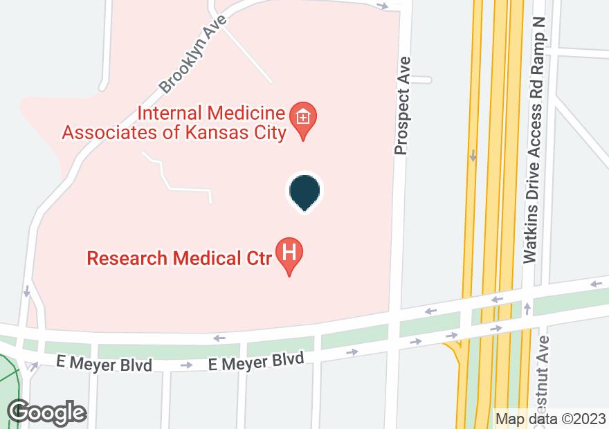 Google Map of2330 E MEYER BLVD