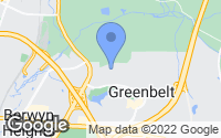 Map of Greenbelt, MD