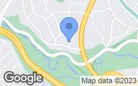 Map of Kensington, MD