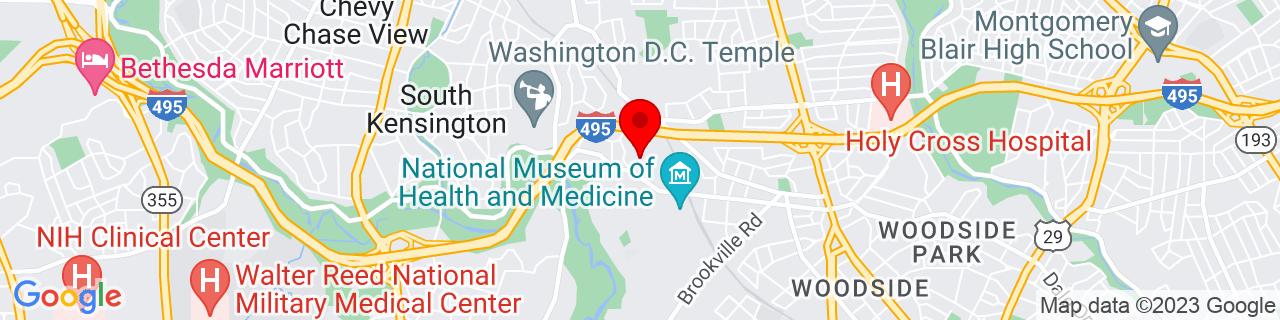 Google Map of 39.0120168, -77.05652119999999