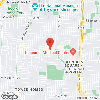 Map of Citi Trends at 1140 E. Meyer Blvd, Kansas City, MO 64131