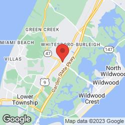 Shelton's Motel on the map