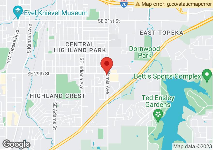Google Map of 2901 SE CALIFORNIA AVE