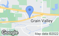 Map of Grain Valley, MO