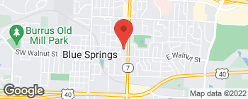 Map of 710 W Main St in Blue Springs