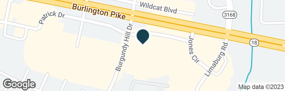 Google Map of1747 PATRICK DR