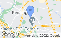Map of Kensington, MD