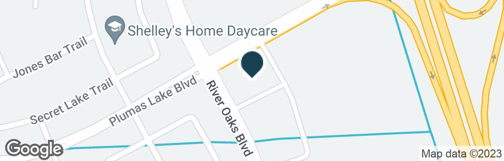 Google Map of2293 RIVER OAKS BLVD