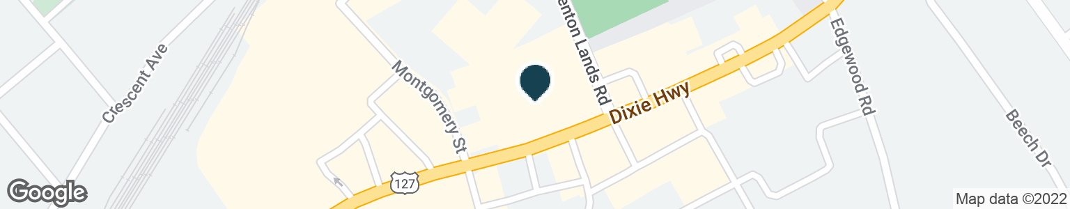 Google Map of3104 DIXIE HWY