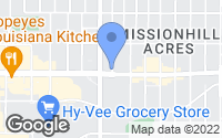 Map of Mission, KS