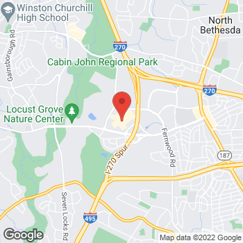 Map of Michael Kors at 7101 Democracy Blvd, Bethesda, MD 20817
