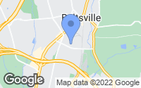 Map of Beltsville, MD