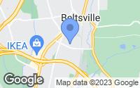 Map of Beltsville, MD