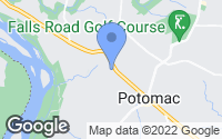 Map of Potomac, MD