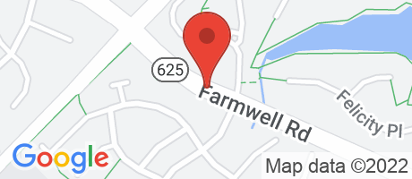 Branch Location Map - BANK OF AMERICA, 43930 FARMWELL RD