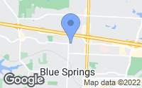 Map of Blue Springs, MO