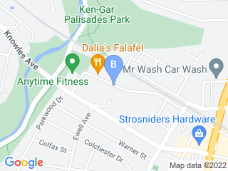 Map of Happy Hound Club Dog Boarding options in Kensington | Boarding