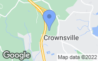 Map of Crownsville, MD