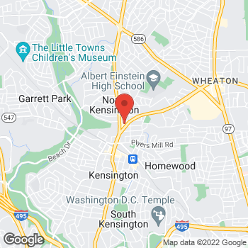 Map of Hair Cuttery at 3731 University Blvd W Ste C, Kensington, MD 20895