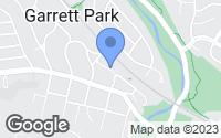 Map of Garrett Park, MD