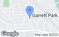 Map of Garrett Park, MD