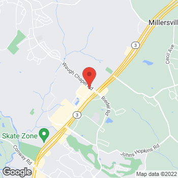 Map of Rite Aid at 2633 Brandermill Blvd, Gambrills, MD 21054