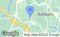 Map of Ashburn, VA