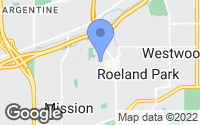 Map of Roeland Park, KS