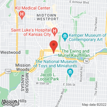 Map of Michael Kors at 4747 Broadway St, Kansas City, MO 64112