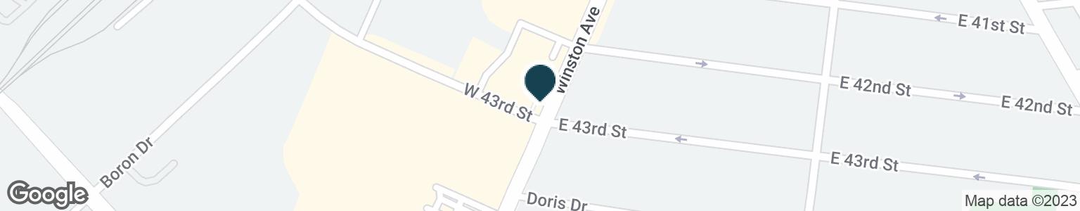 Google Map of4299 WINSTON AVE