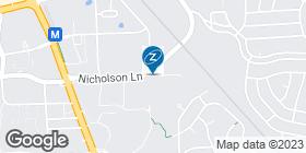 map showing La-Z-Boy store location in Rockville, MD