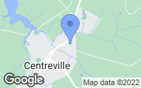 Map of Centreville, MD