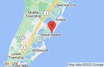 Map of Stone Harbor