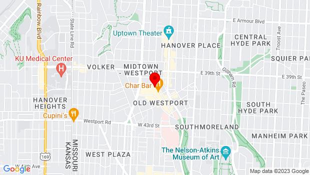 Google Map of 4010 Pennsylvania Ave, Kansas City, MO 64111