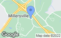 Map of Millersville, MD