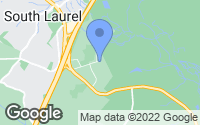 Map of Laurel, MD