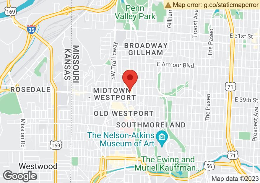 Google Map of 3845 BROADWAY ST