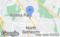 Map of Rockville, MD