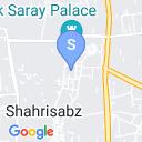 map for Green City, Shakhrisabz, Uzbekistan