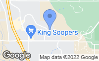 Map of Monument, CO