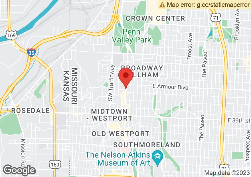 Google Map of 3537 BROADWAY BLVD