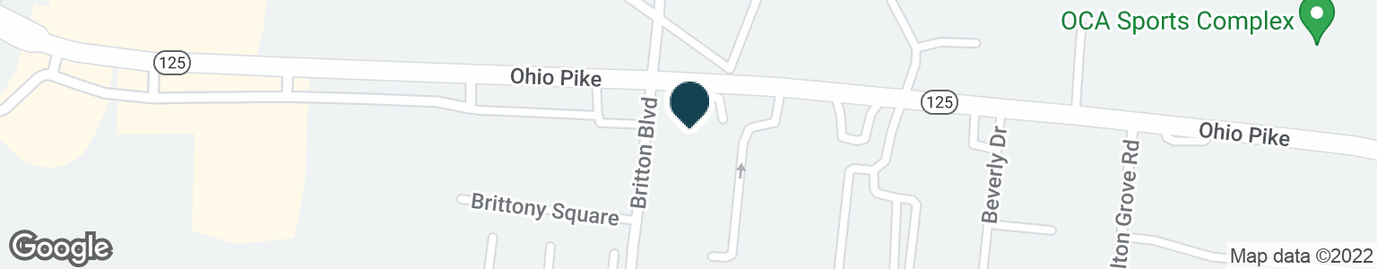 Google Map of719 OHIO PIKE